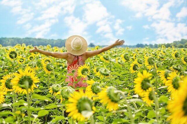 Selbstliebe bringt das Glück und die Leichtigkeit in dein Leben